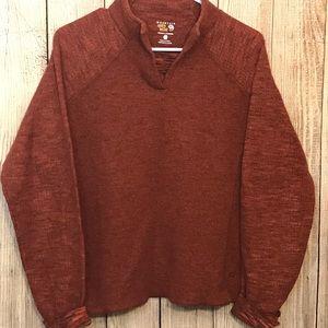 Mountain Hardwear Sweaters Brown Mountain Hard Wear Fleece Sweater